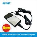 nuevo 100w ac dc universal de batería externa portátil cargador