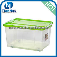 colorful plastic stackable button storage containers with wheels and lid