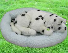 Best for Valentine Day gift Stuffed Plush Animals Breathing Sitting Dog Toy