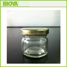 30ml cute honey glass jars 1 oz