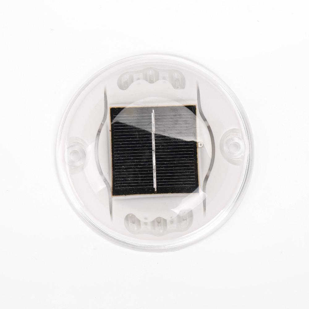 Alumínio Solar LED Refletor Pavimento, olho de gato refletor de
