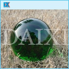 Children toy crystal green glass ball