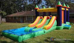 GUTEFUN fund raising events inflatable slide the edge