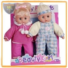 Fábrica de juguetes niño y niña de la muñeca 13 pulgadas con música