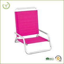 2015 hot sale colors low seat aluminium folding beach chair HL-C-14018