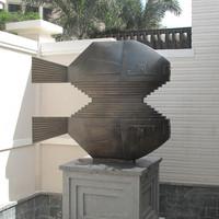 Brass Bronze Fish Sculpture with Modern design for Garden Decoration