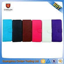 Mobile phone wallet leather flip case cover for blu studio 6.0 case