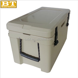 Ice cooler chest, ice cooler box, ice cooler bin (Commercial cooler)
