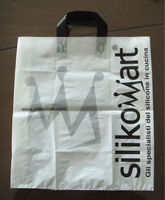 LDPE Shopping Bag with soft loop handle