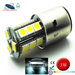 Easy replacement H6-18 SMD 5050 led auto light h6 3w fog bulb CE and ROHS H6 bulb
