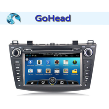 For 2012 Mazda 3 Android 4.4 Bluetooth Audio Radio 3g Wifi MP3 GPS Car DVD Player