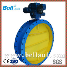 motor operated butterfly valve high pressure, double flange butterfly valve, butterfly valve with handwheel