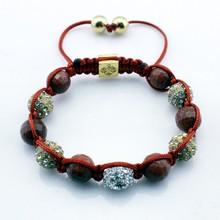 Unique handmade bead cord bracelet african bracelet