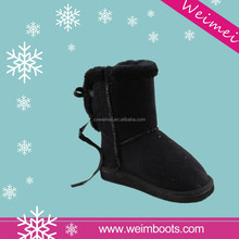 2015 best sell high quality of sheepskin snow boots