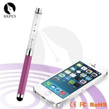 Shibell bling 2 in 1 stylus ballpoint pen, wedding gift pen, promotional female pen