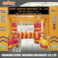 Tunnel Car Wash Equipment and Dry Station Car Care fast cleaning