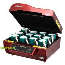 3d vacío de sublimación de calor de la máquina de prensa para la venta