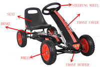 CE Certification and pedal Engine Capacity adult pedal go kart
