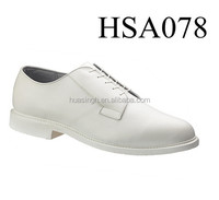 LB,understated concise style lace up flat oxford military navy deck shoes with sharp toe feature