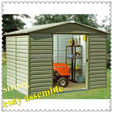 gorgeous different styles of steel garden sheds