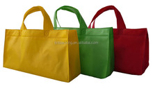2015 Hot sale eco friendly shopping various color available printed non woven bags