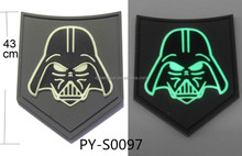 high quality PVC rubber patch / fluorescent