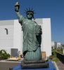Factory outlet inflatable advertising replica/big inflatable PVC plastic statue of liberty for sale