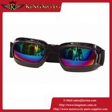 KINGMOTO 151031-31 Profession fashion 100% anti-uv fog free motorcycle goggles