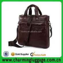 Men genuine leather handbag /laptop handbag