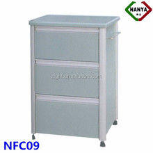 NFC09 Aluminum Alloy hospital bedside locker