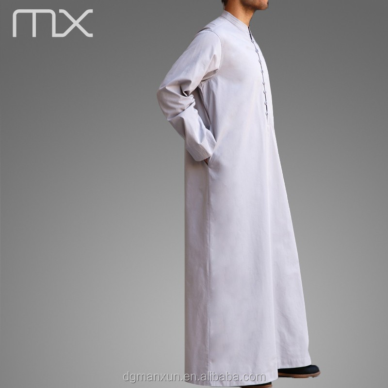 Men Saudi Style Abaya Islamic Clothing Design in Dubai  New Thobe Caftan 2016 (2).jpg