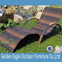 uv -resistant outdoor furniture mix color rattan beach bed