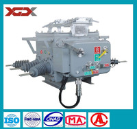 11KV, 630A/1250A, ZW20-12 Type Outdoor Boundary High Voltage AC Vacuum Circuit Breaker (VCB)