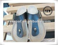 China fashion man leather slipper shoe 2013