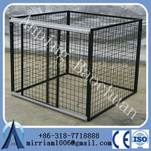 china wholesale Large outdoor chain link dog kennel , dog cages, welded wire dog kennel