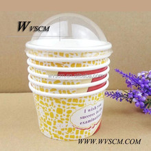 Disposable Eco-friendly Ice-cream Paper Cups Hot Sale 2015