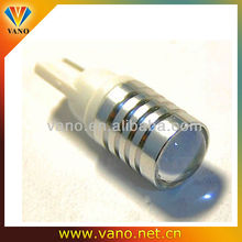 China Manufacturer of High Power Round Surface W2.1x9.5D Wedge Automobile Led Bulb T10 Cree