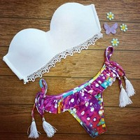 YY039 Hot promotion new style sexy bikini muslim swimwear free shipping open hot sex girl swimwear