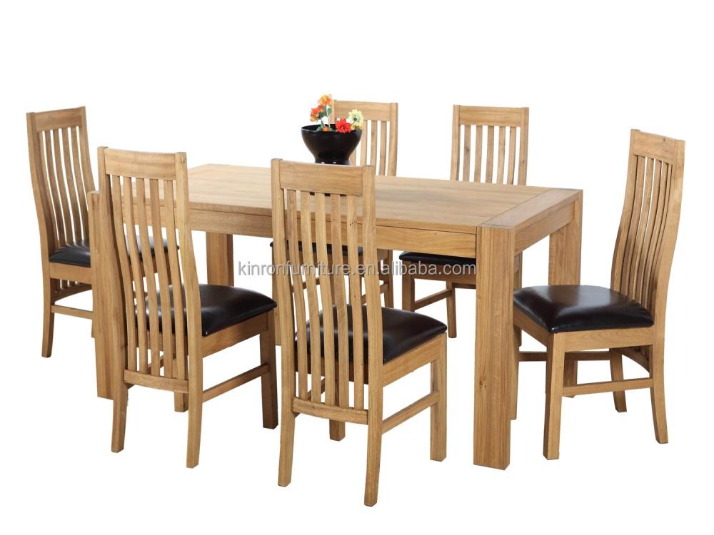 Unique retour chaise c t pour meubles de maison en bois - Chaise haut dossier salle a manger ...