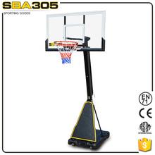 fixed adjustable basketball stand backboard