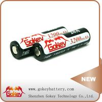3.7V 18650 Gokey 3200mAh Battery Li-Mn 18650 Lithium Battery 35A 3.7V 3200mAh Gokey Power Li-Mn Batterires 18650 Rechargeable