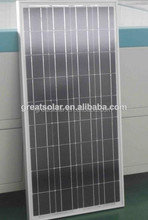 130w/12v poly solar panel with technical skill made in China