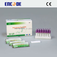 Clinical diagnostic h pylori stool rapid test / H Pylori Antigen Test Kit / Medical disposable test kit