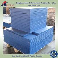 Thick colored Self-lubricating uhmw polyethylene sheet