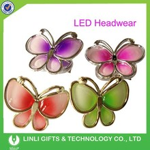 Plastic Butterfly LED Hair Accessories