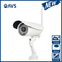 Night Vision P2P 4G Wireless Camera with Dual Video Streaming and Dual Video Streaming