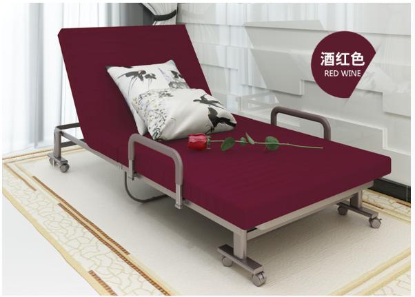 Barato moderno cama individual plegable diseños/metal marco de la ...