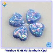 Wuzhou JL Synthetic Heart Opal Gems For 2015 Hot Sale Products
