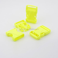 Popular new products colorful plastic slide buckles