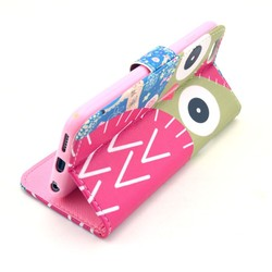 wallet case cover for iphone 6 ,flip PU Leather case cover for iphone 6 with stand